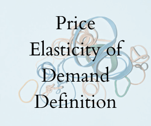 Price Elasticity Of Demand Definition 3 Main Types Formula